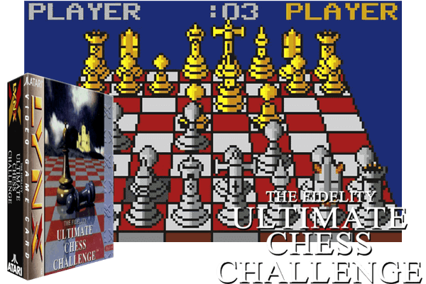 Atari Lynx - Fidelity Ultimate Chess Challenge